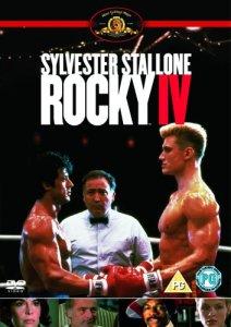 Segunda Capa do Filme Rocky 4