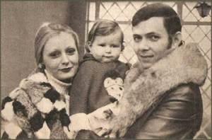 Paulo Sérgio, a Esposa Raquel e o Filho Rodrigo