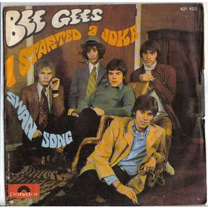 musica i started a joke bee gees