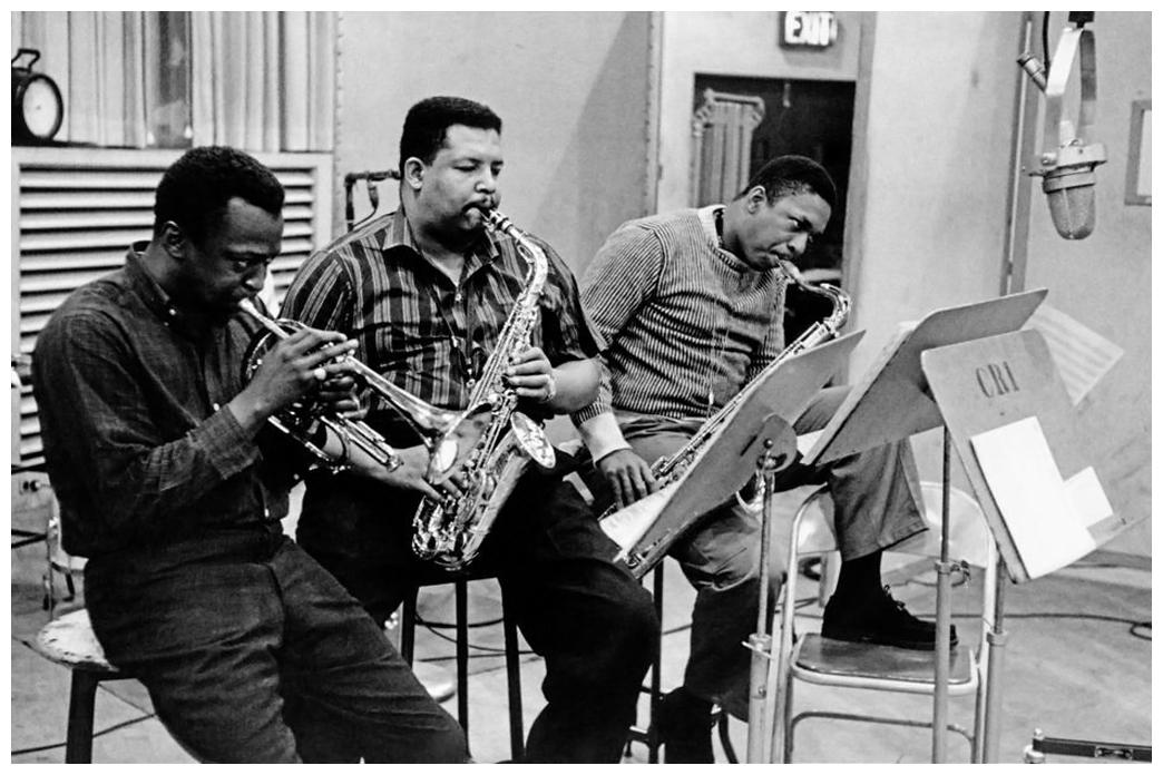 Miles, Cannonball and Coltrane